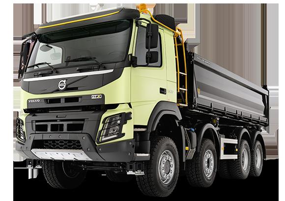 camión volvo FMX para construcción y minería