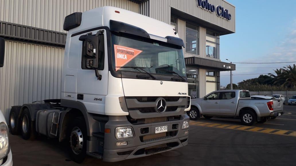 Mercedes 2646 tracto 6×4