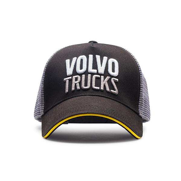 Gorro Volvo Trucks en construcción